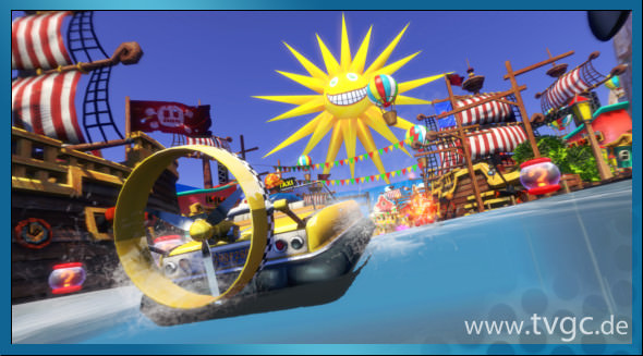 Sega All Stars Racing Transformed Screenshot 04