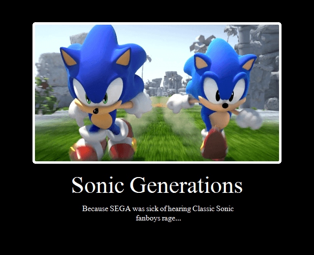 Sonic Generations Picture 1
