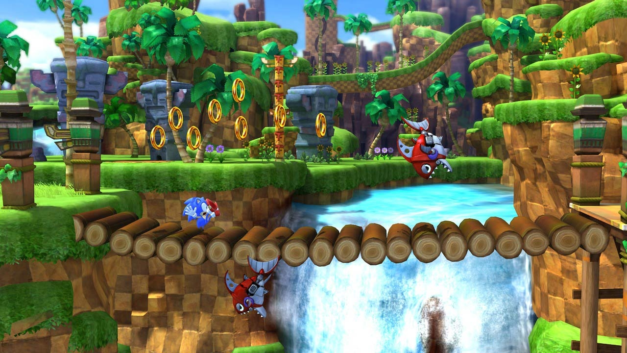Sonic Generations screen 2