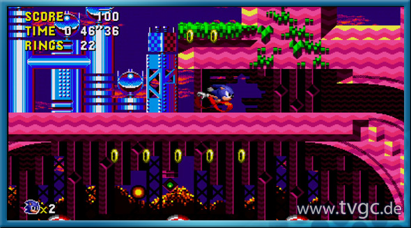 sonic cd screenshot01
