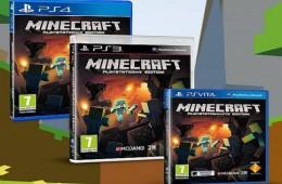 Minecraft ab sofort auf PS4 verfügbar