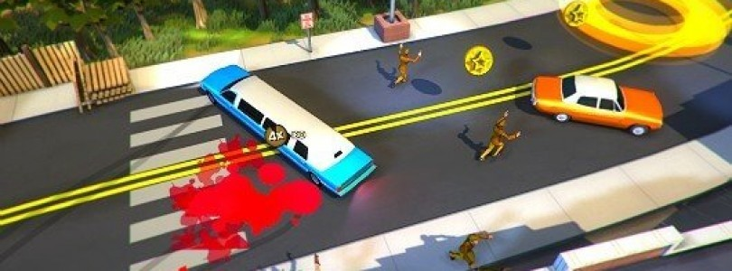 Roundabout Limousinen Collision Trailer