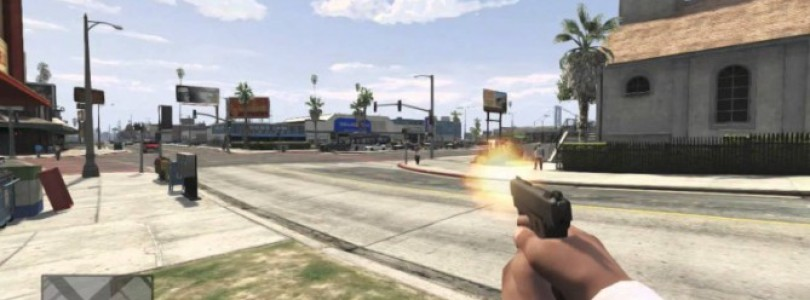 GTA V : First Person Modus Trailer