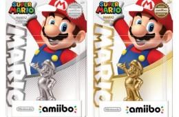 Amiibo: Goldener und silberner Mario kurzzeitig aufgetaucht