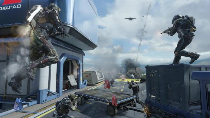 Advanced Warfare macht zu jeder Tageszeit eine gute Figur