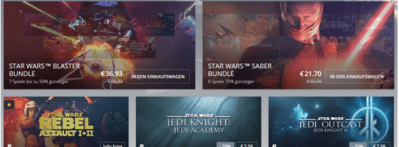 Star Wars Rebel Assault 1 und 2 ab sofort auf gog.com