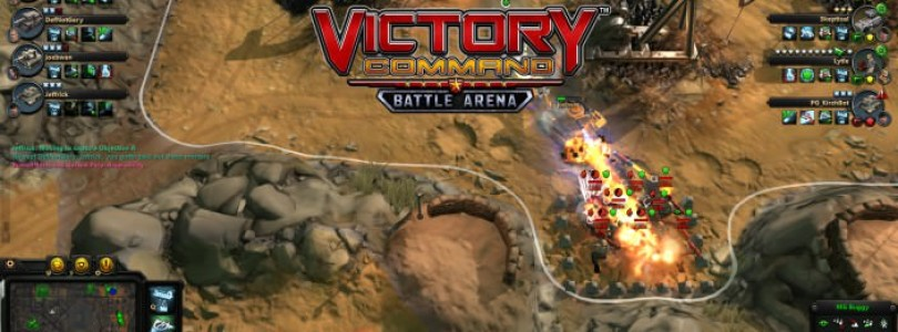 THE FIRST MILITARY MOBA VICTORY COMMAND über Steam erhältlich