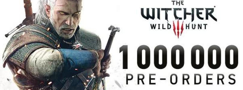 The Witcher 3: Über eine Million Vorbestellungen