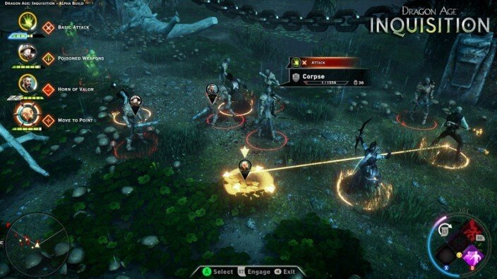 Dragon Age: Inquisition Gameplay