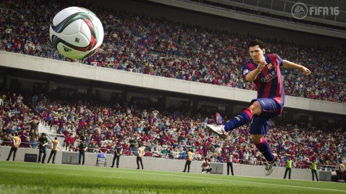 FIFA 16 Schuss