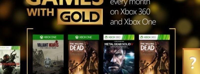 Games with Gold für Oktober 2015 stehen fest