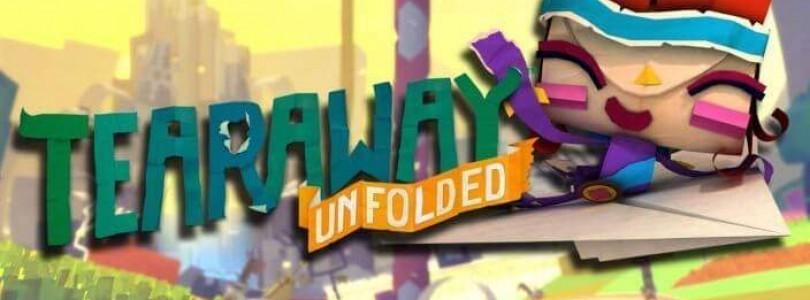 Tearaway Unfolded ab sofort auf Playstation 4 erhältlich