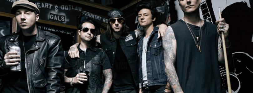 Avenged Sevenfold mit Premium Guitar Hero Live Show