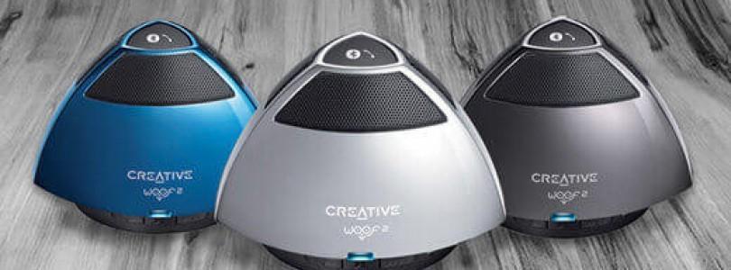 Creative präsentiert Woof 3 Bluetooth System