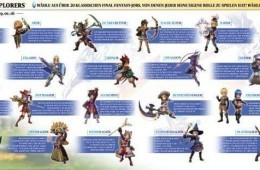 Final Fantasy Explorers – Alle 21 Job-Klassen vorgestellt