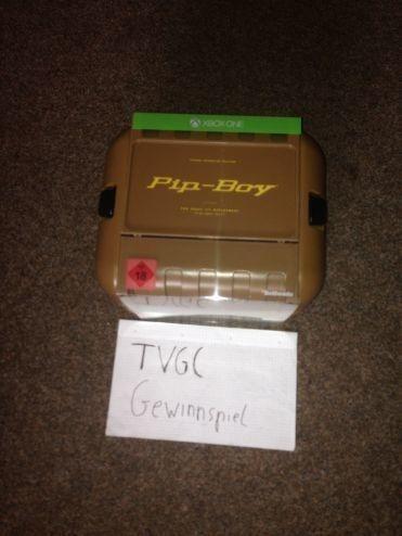 Fallout Pip Boy gewinnen - ausverkauft.