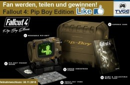 TVGC Gewinnspiel Fallout 4: Pip Boy Edition