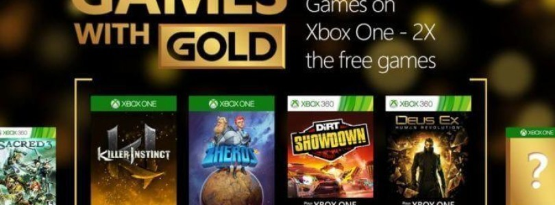 Games with Gold Januar 2016 stehen fest
