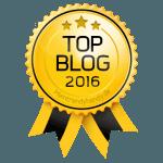 Auszeichnung zum Top Video Games Blog 2016