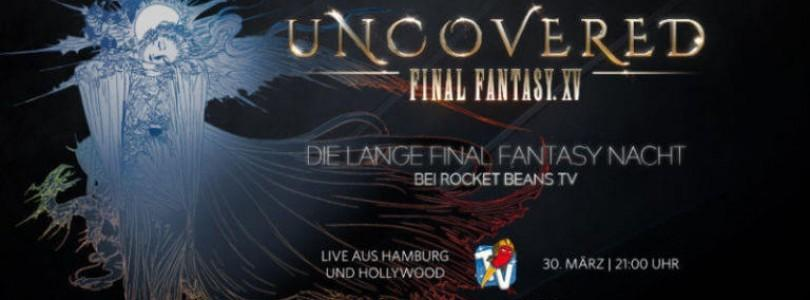 Final Fantasy XV mit den Rocket Beans