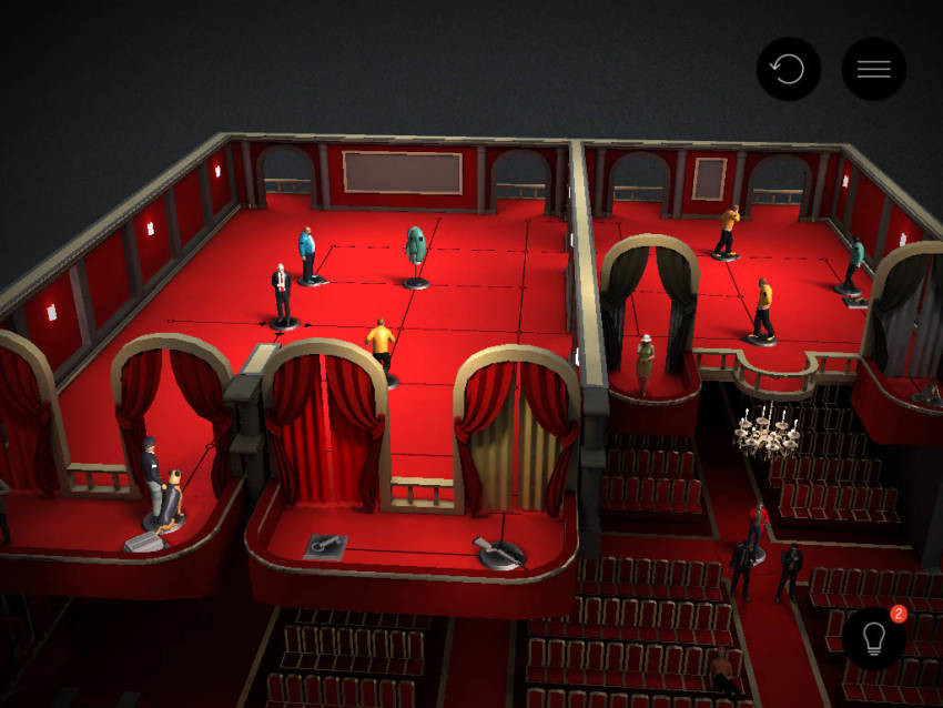 hitman go extended screen