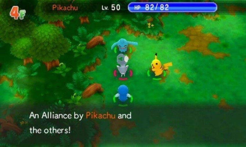 Mystery Dungeon screen 2