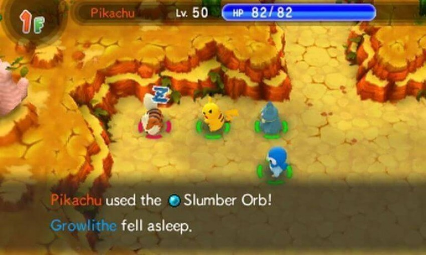 Mystery dungeon screen 1