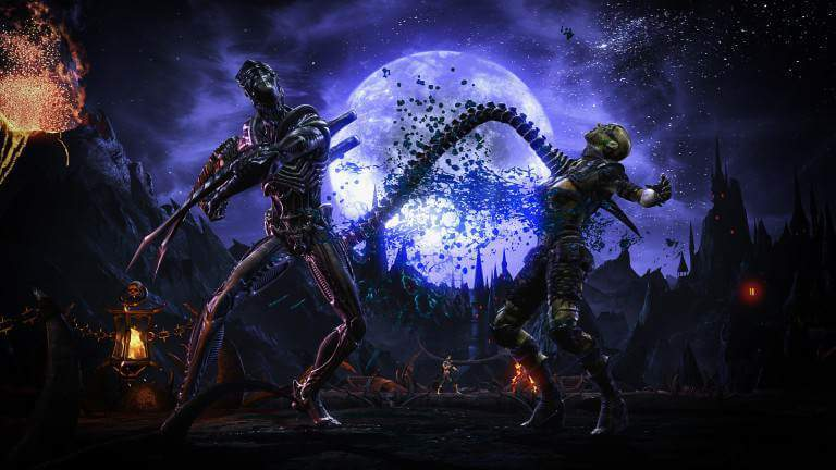 mortal kombat xl alien