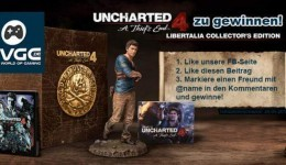 Uncharted 4 Libertalia Collector's Edition gewinnen