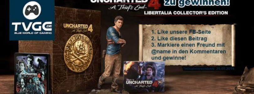 Uncharted 4 Libertalia Collector's Edition gewinnen