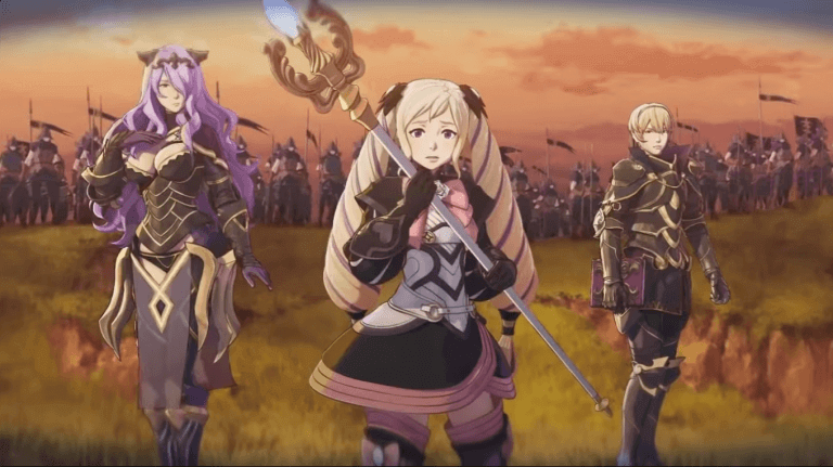 fire emblem fates scren 3