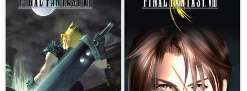 Final Fantasy VII und VIII im Doppelpack erhältlich