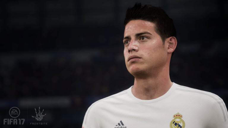 FIFA 17 PREVIEW - JAMES RODRIGUEZ, MITTELFELDSPIELER Real Madrid