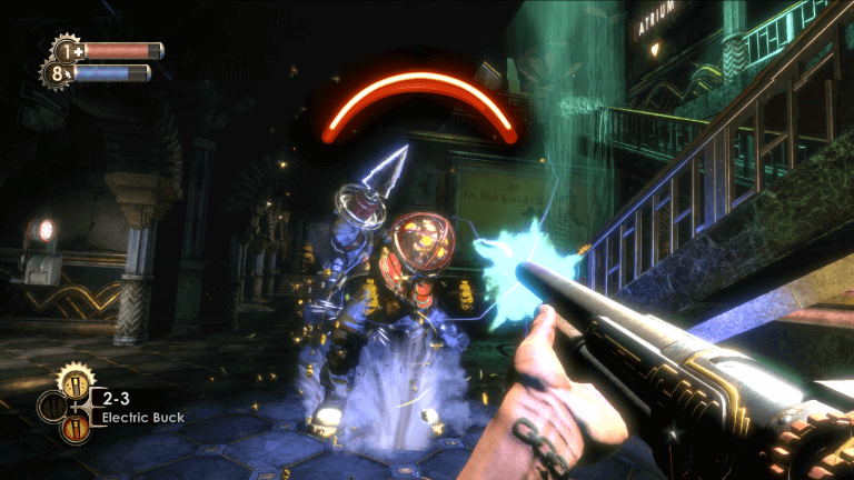 Bioshock the Collection Plasmid Action