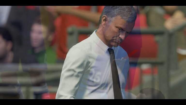FIFA 17: Trainer auf der falschen Seite