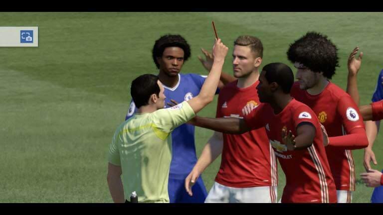 FIFA 17: Intro - Chelsea gegen Manchester United - Realitätsnahe Spieler