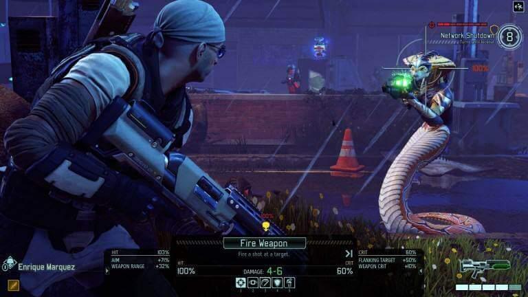 XCOM 2 auch Schlangenaliens landen vor dem Zielfernrohr
