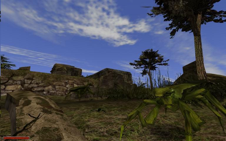 Im Tal der Erbauer treffen wir auf neue Gegner und stöbern durch die Ruinen einer erloschenen Adanoskultur.