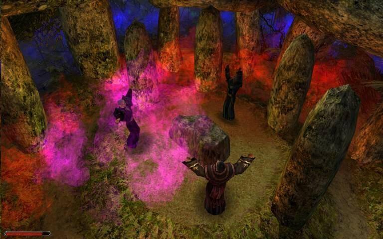 Um den Kampf mit den Drachen aufnehmen zu können, benötigen wir ein mächtiges Artefakt – das Auge Innos. Doch alleine schon das magische Artefakt zu beschaffen und durch Vertreter der drei Gottheiten Innos, Adanos und Beliar aufladen zu lassen, stellt eine gewaltige Aufgabe dar.