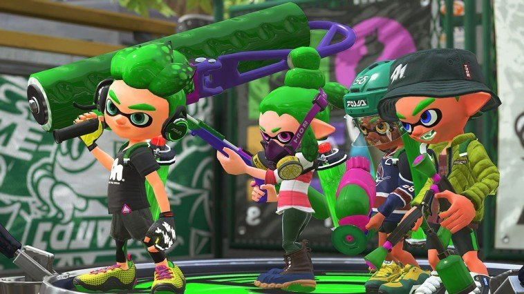 Anime zu Splatoon