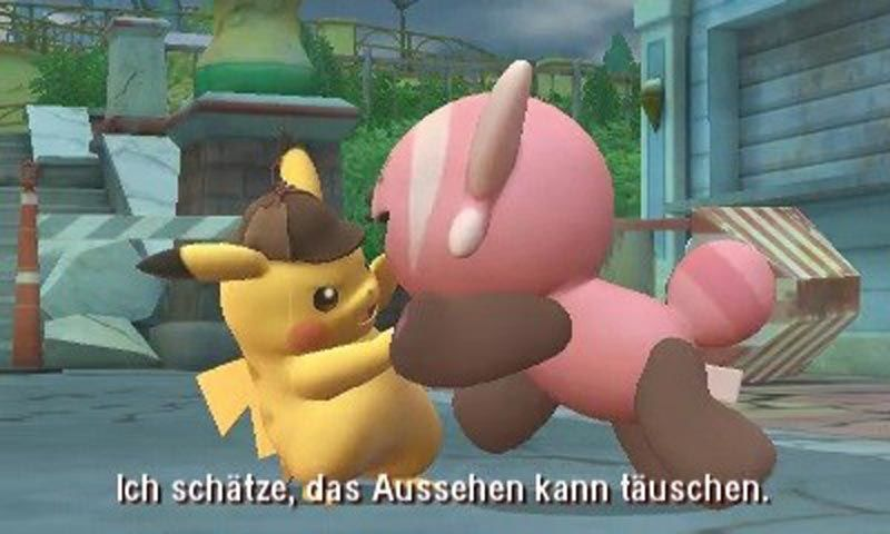 Pikachu scheut keine Konfrontation