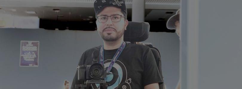 Cosplay Video-Dreh im Rollstuhl